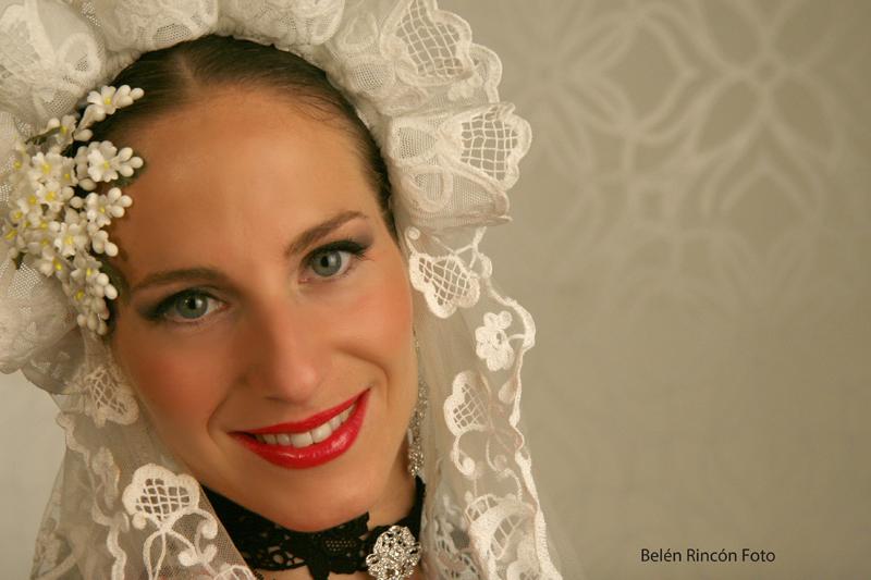 Cristina. Hoguera Maisonnave. Belén Rincón Fotografía.