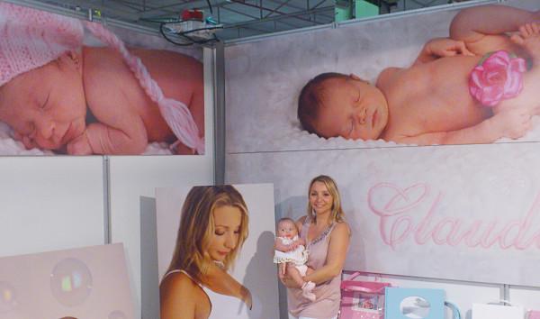 Fotografía stand feria bebés y mamás 2013