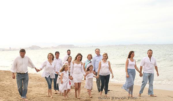 Fotos familiares de la familia Pastor tomadas por Belén Rincón Fotografía