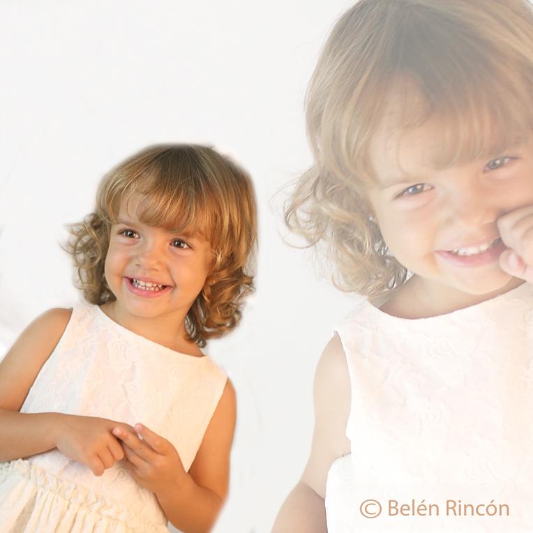 Ángela y Victoria. Fotografía infantil. Belén Rincón Fotografía