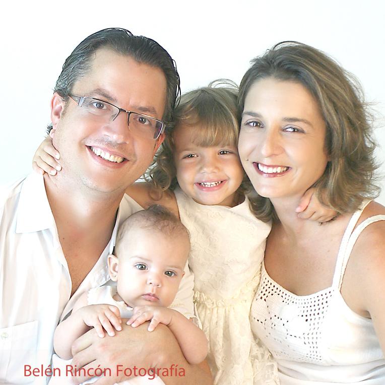 Fotografía familiar. Belén Rincón