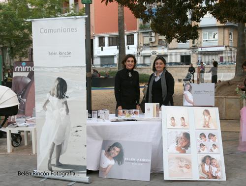 Belén Rincón Fotografía en el stand de la revista Urban woman en el Marq de Alicante