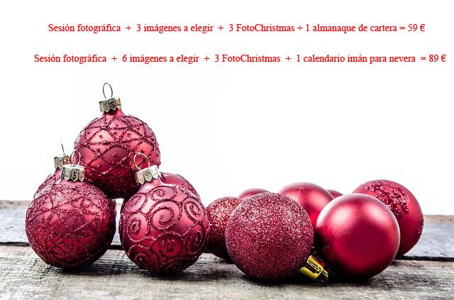 Promociones en fotografía paraa Navidad 2014