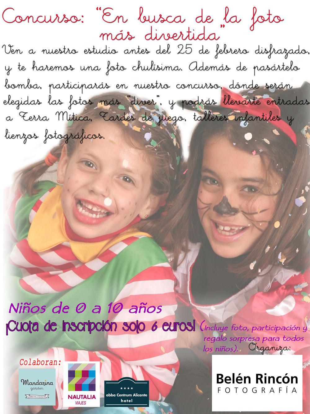Concurso de disfraces. Carnaval 2015