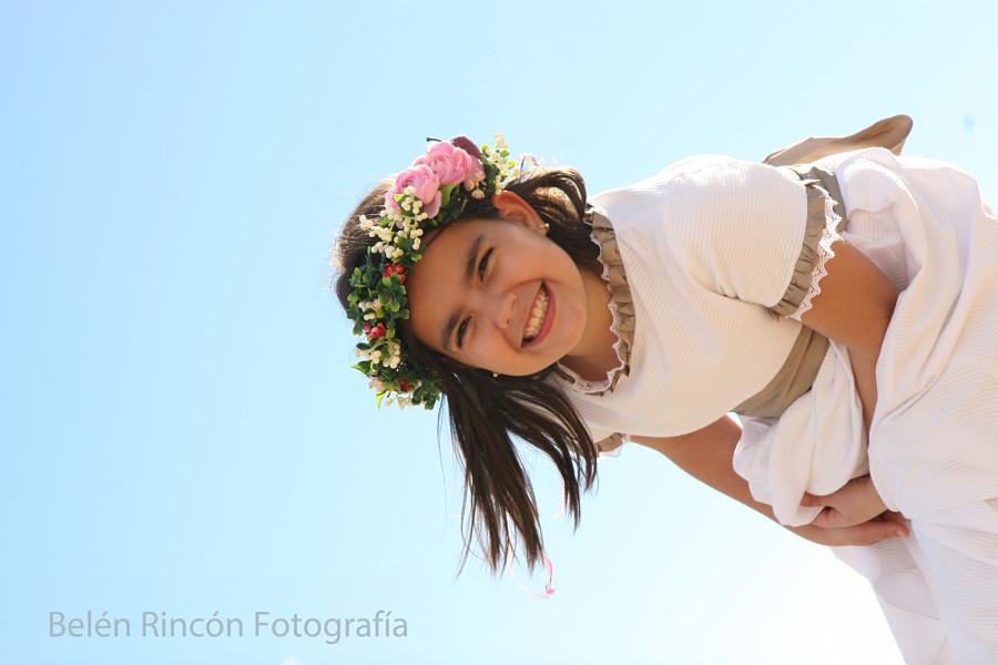 Celia, fotografía de Primera Comunión