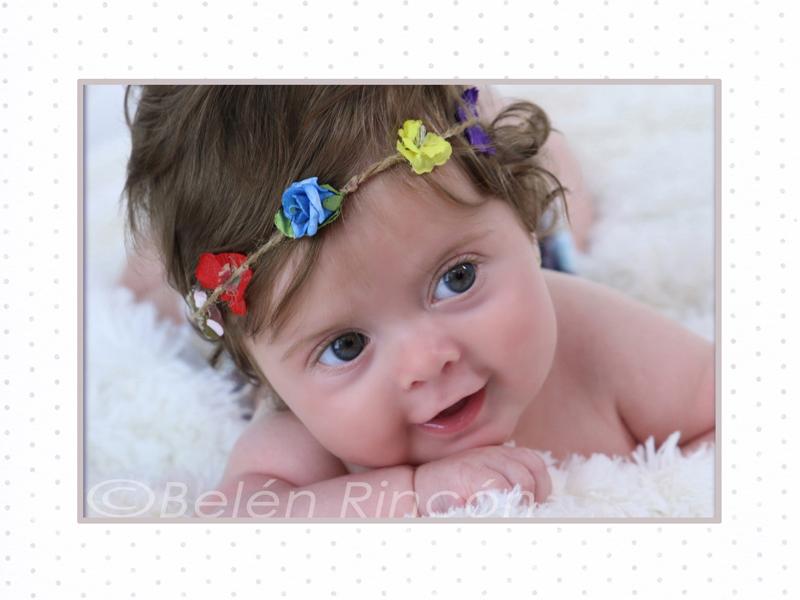 Fotografía infantil y sesiones fotográficas de seguimiento de bebés.