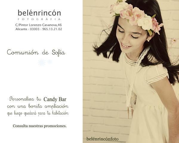 Poster Candy Bar Primera Comunión
