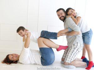 Sesión fotográfica de familia